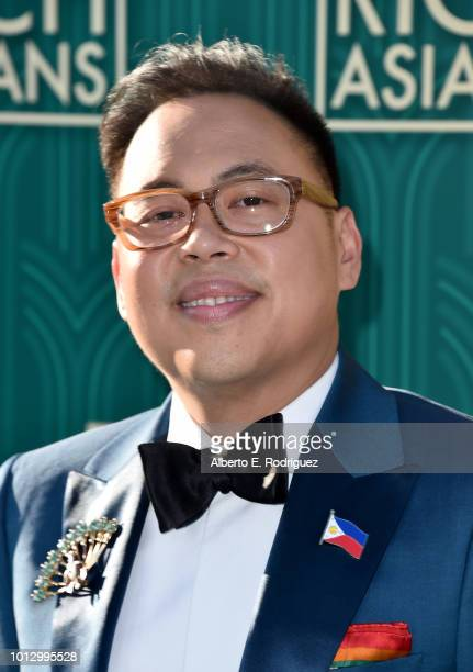 Nico Santos attends the premiere of Warner Bros Pictures' Crazy Rich Asiaans at TCL Chinese Theatre IMAX on August 7 2018 in Hollywood California