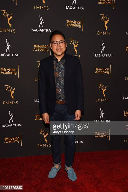 Nico Santos attends the Television Academy and SAGAFTRA CoHost Dynamic Diverse Emmy Celebration at Saban Media Center on September 11 2018 in North...