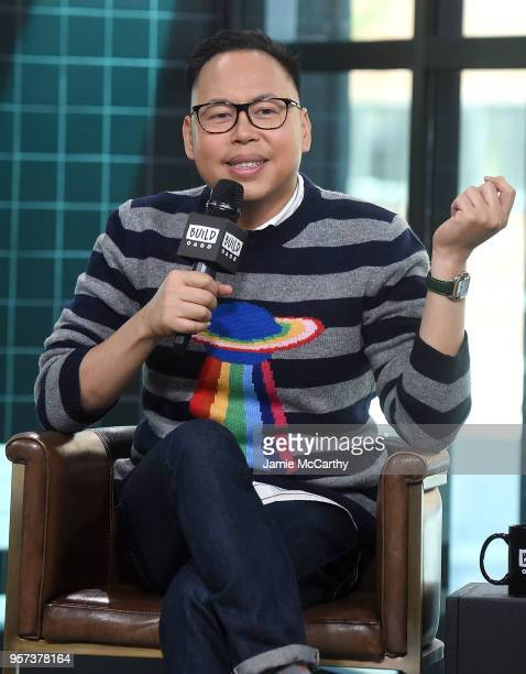 Nico Santos visits Build series to discuss Superstore and Crazy Rich Asians at Build Studio on May 11 2018 in New York City