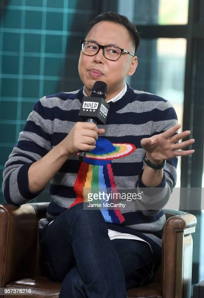 """Nico Santos visits Build series to discuss """"Superstore and Crazy Rich Asians"""" at Build Studio on May 11, 2018 in New York City."""