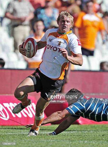 Nico Scheepers of the Toyota Free State Cheetahs during the Absa Currie Cup match between Toyota Free State Cheetahs and GWK Griquas at Free State...