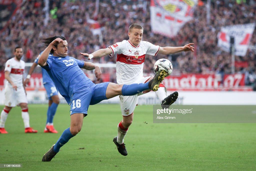 DEU: VfB Stuttgart v TSG 1899 Hoffenheim - Bundesliga
