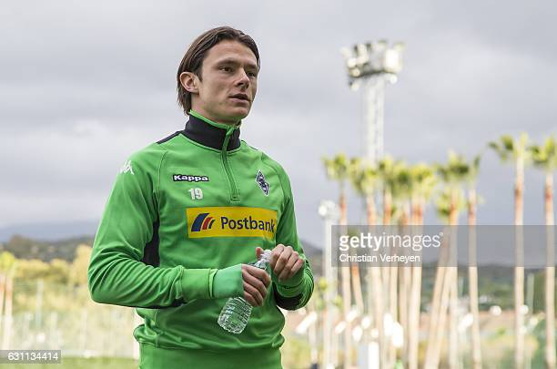 Nico Schulz of Borussia Moenchengladbach during a Training Session at Borussia Moenchengladbach Training Camp on January 07 2017 in Marbella Spain