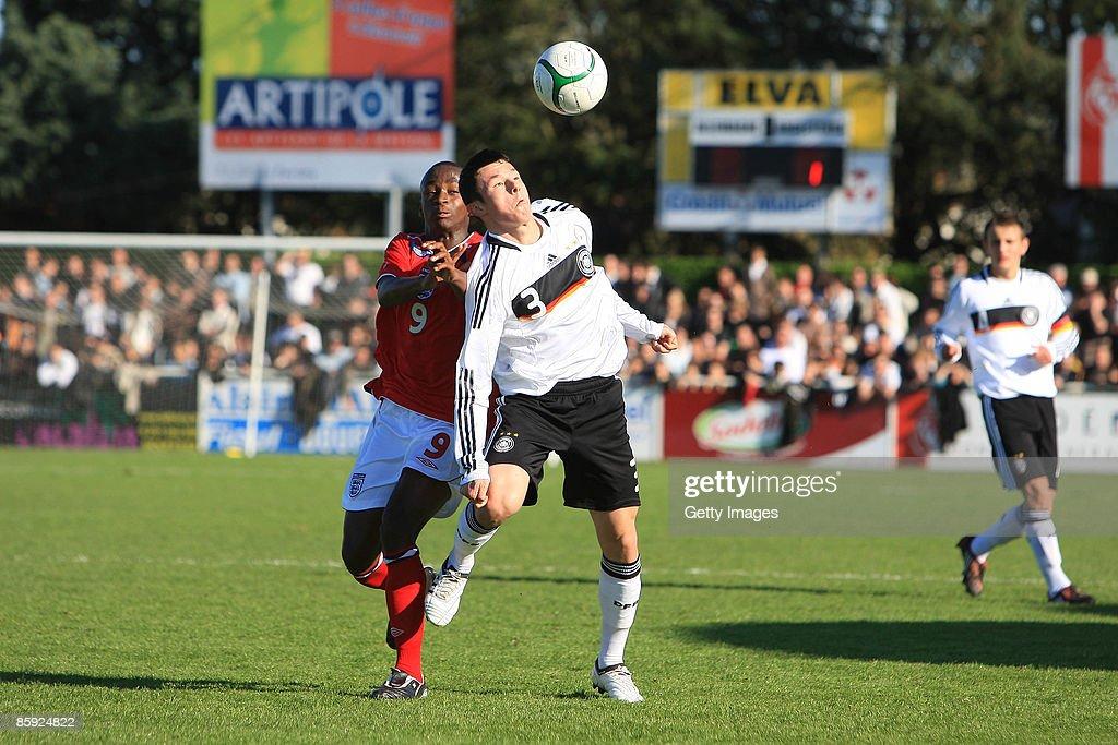 U16 Germany v U16 England - International Friendly : News Photo