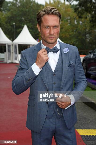Nico Schwanz attends the Audi Ascot Race Day at Neue Bult horse racing track on August 18 2019 in Langenhagen Germany
