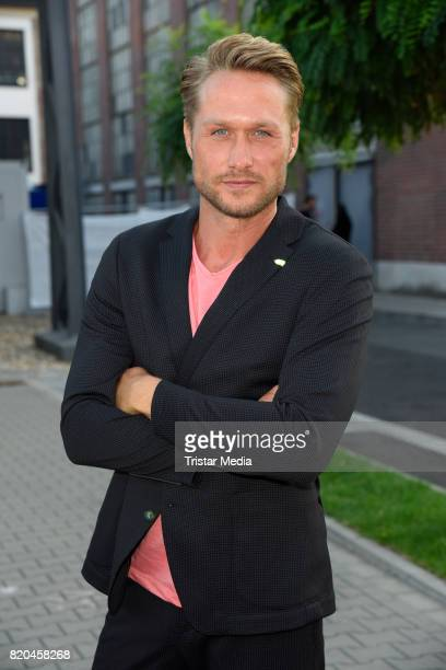 Nico Schwanz attends the Breuninger show during Platform Fashion July 2017 at Areal Boehler on July 21 2017 in Duesseldorf Germany