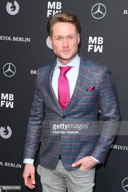 Nico Schwanz attends the Irene Luft show during the MBFW Berlin January 2018 at ewerk on January 17 2018 in Berlin Germany