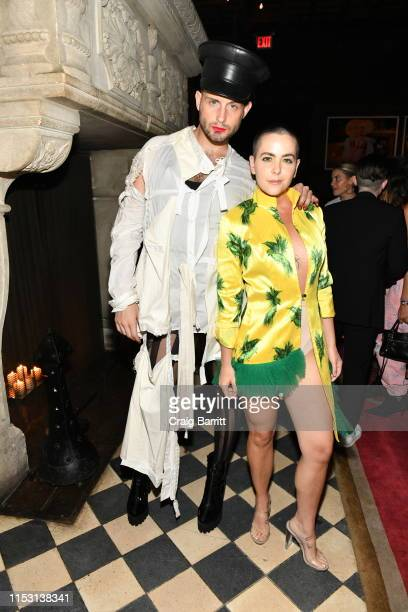 Nico Tortorella and Bethany C Meyers attend Rose Bar Pride Party hosted by Christian Siriano Bethany C Meyers and Nico Tortorella at Rose Bar at...