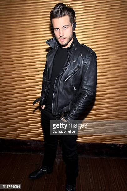 Nico Tortorella attends Logo's 'RuPaul's Drag Race' Season 8 Premiere at Stage 48 on February 22 2016 in New York City