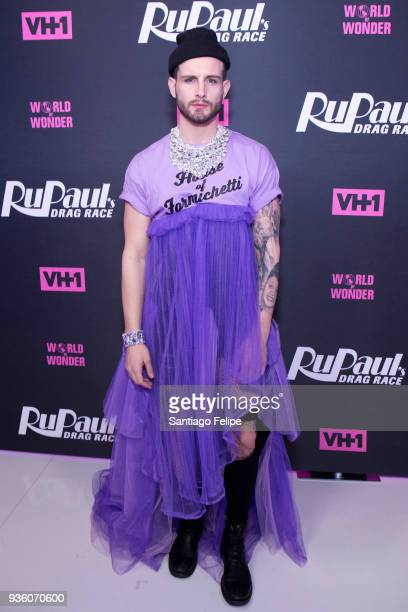 Nico Tortorella attends RuPaul's Drag Race Season 10 Meet The Queens at TRL Studios on March 21 2018 in New York City