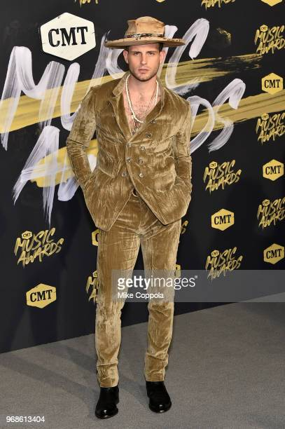 Nico Tortorella attends the 2018 CMT Music Awards at Bridgestone Arena on June 6 2018 in Nashville Tennessee