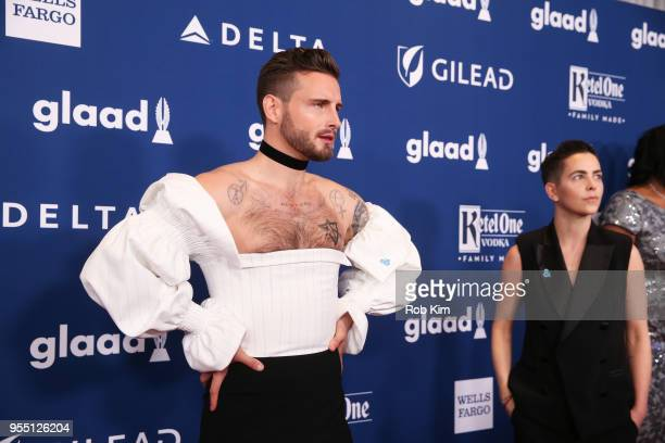 Nico Tortorella attends the 29th Annual GLAAD Media Awards at Mercury Ballroom at the New York Hilton on May 5 2018 in New York City