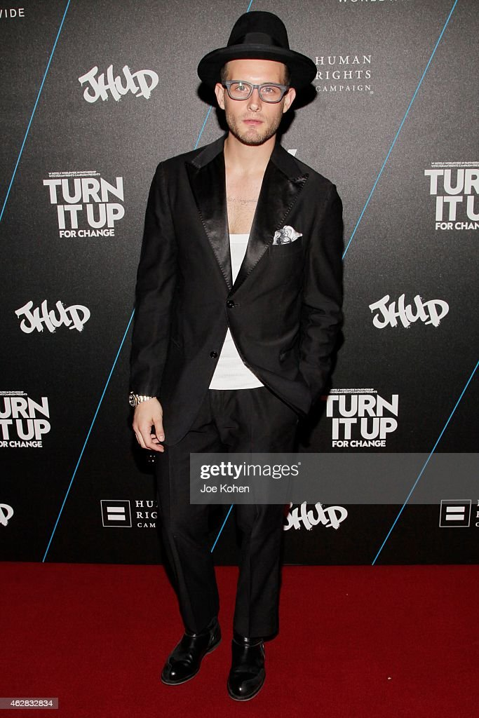 Nico Tortorella attends Turn It Up For Change ball to benefit HRC at W Hollywood on February 5, 2015 in Hollywood, California.