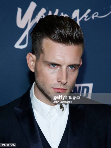Nico Tortorella attends Younger season 5 premiere party at Cecconi's Dumbo on June 4 2018 in Brooklyn New York