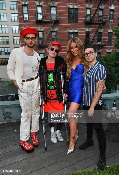Nico Tortorella Nats Getty Gigi Gorgeous and Christian Siriano attend Adore Me x Pride 2019 hosted By Gigi Gorgeous at Gitano on June 27 2019 in New...