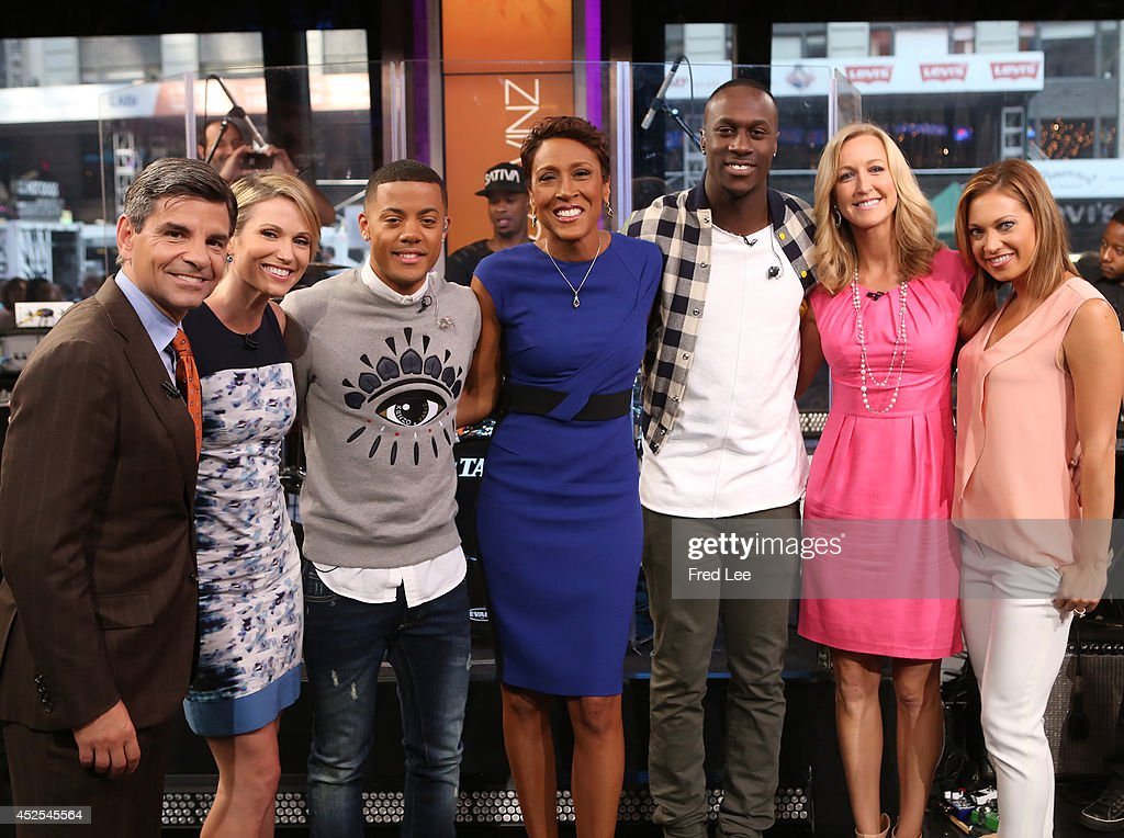 "ABC's ""Good Morning America"" - 2014 : News Photo"
