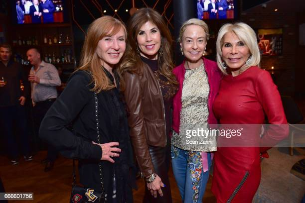 Nicoel Miller Lauren Day Roberts Robin Cofer and Colleen Rein attend Bitches Who Brunch Debra's Birthday Edition on April 9 2017 in New York City