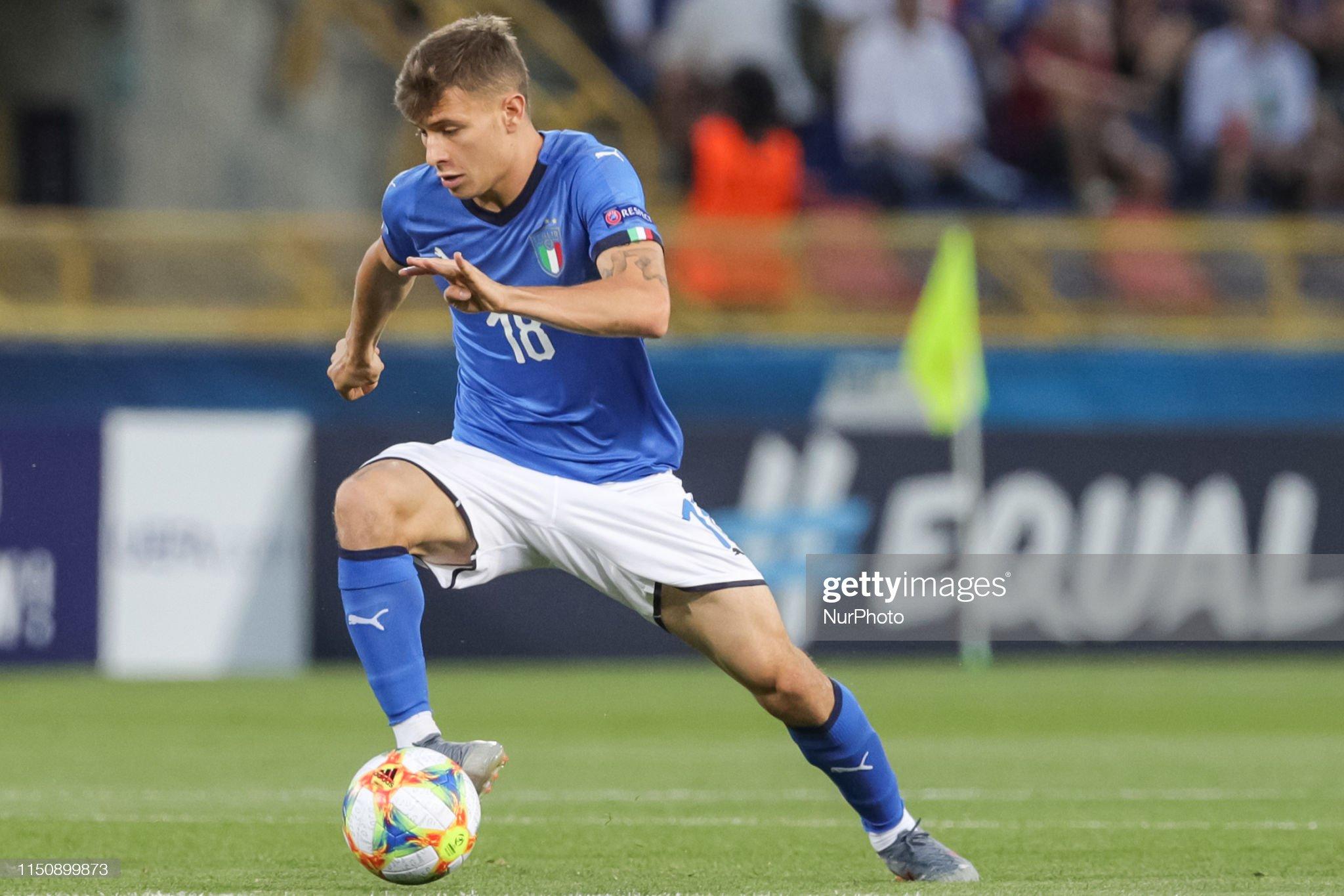 Italy v Poland: Group A - 2019 UEFA U-21 Championship : Fotografia de notícias