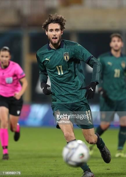 Nicolò Zanellato of Italy during the UEFA U21 European Championship Qualifier match between Italy and Armenia at Stadio Angelo Massimino on November...