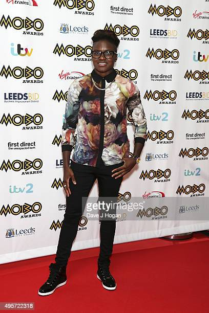 Nicola Adams attends the MOBO Awards at First Direct Arena on November 4, 2015 in Leeds, England.