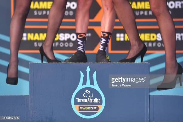 Nicola Bagioli of Italy Green Mountain Jersey Celebration / Legs / during the 53rd TirrenoAdriatico 2018 / Stage 2 a 172km stage from Camaiore to...