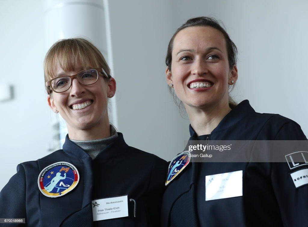 Germany Presents Its First Female Astronauts : Nachrichtenfoto