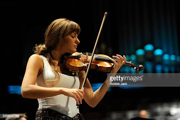 Nicola Benedetti at the Usher Hall as part of the Edinburgh International Festival