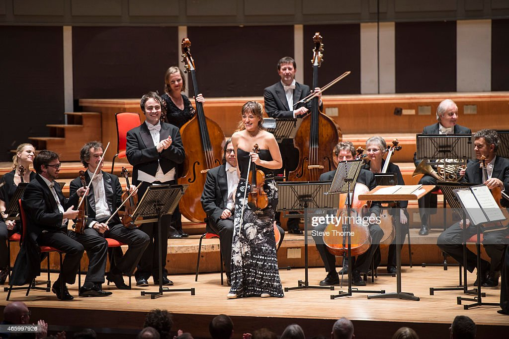 Nicola Benedetti And Camerata Salzburg Perform At Symphony Hall In Birmingham