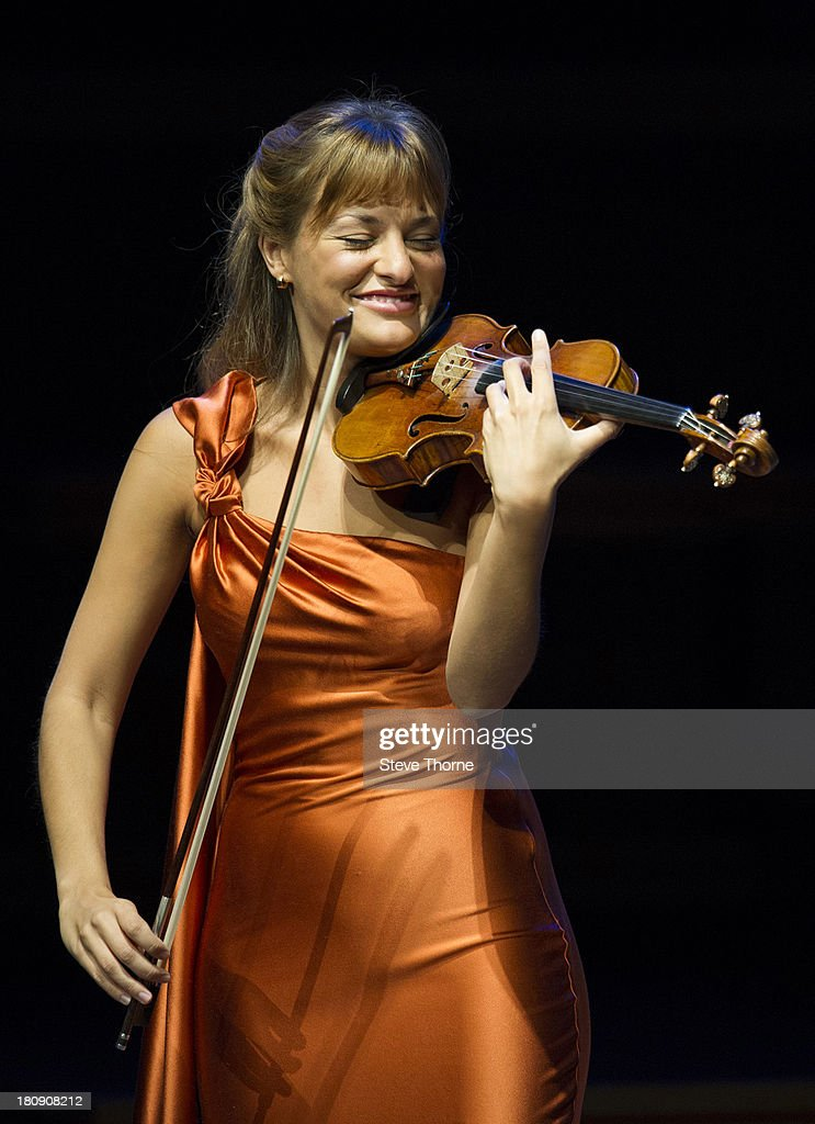 Nicola Benedetti Performs At Symphony Hall In Birmingham