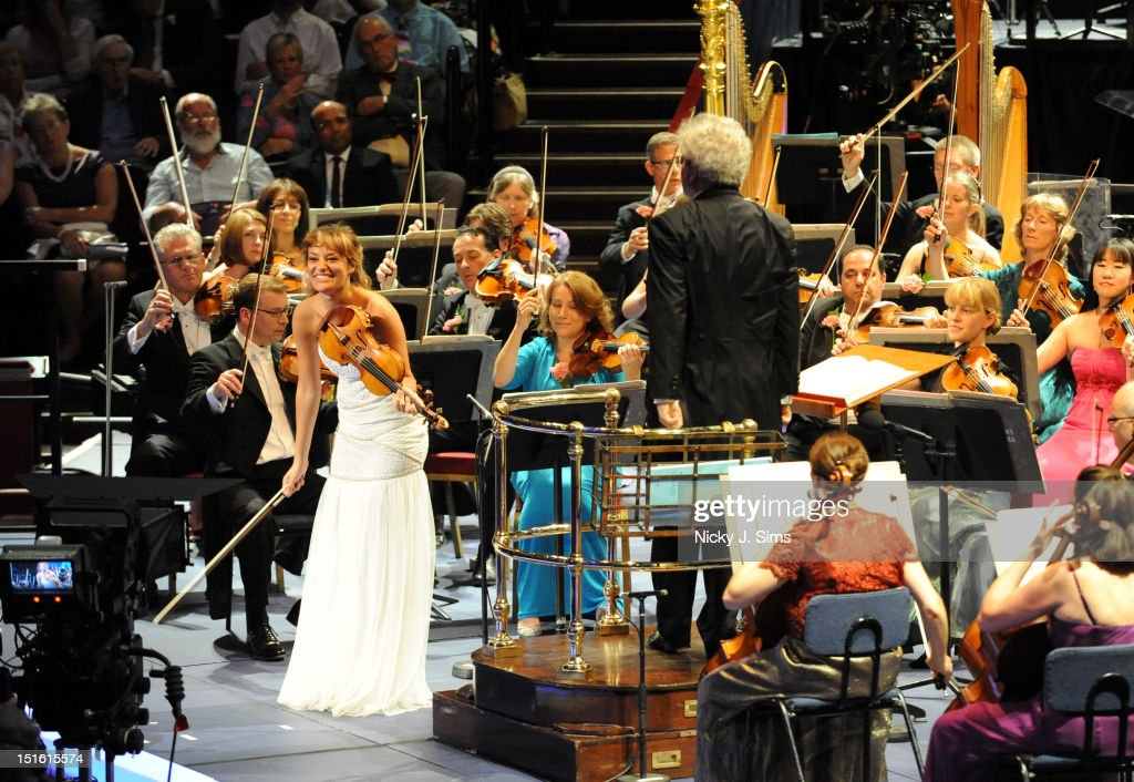 Last Night Of The Proms 2012: Nicola Benedetti Performs