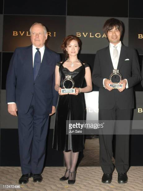 Nicola Bulgari Shizuka Arakawa and Takayuki Ohira
