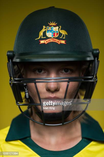 Nicola Carey poses during the Cricket Australia Women's National Squad Player Camp on September 13 2018 in Sydney Australia