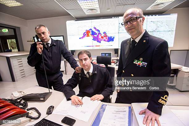 Nicola Carlone Vice Admiral of the italian Coast Guard chief of Italy's department of maritime security for the Mediterranean sea is portrayed in the...