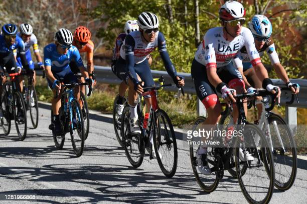 Nicola Conci of Italy and Team Trek - Segafredo / Breakaway / during the 103rd Giro d'Italia 2020, Stage 20 a 190km stage from Alba to Sestriere...