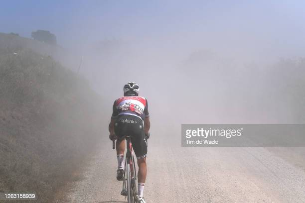 Nicola Conci of Italy and Team Trek-Segafredo / Dust / during the Eroica - 14th Strade Bianche 2020 - Men a 184km race from Siena to Siena-Piazza del...