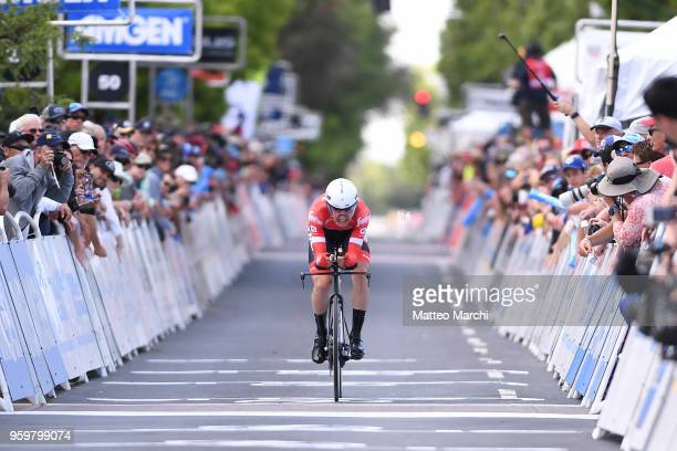 Nicola Conci of Italy and Team TrekSegafredo rides during stage four of the 13th Amgen Tour of California 2018 San Jose / Morgan Hill a 347 km...