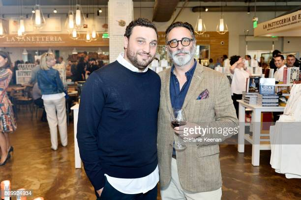 Nicola Farinetti and Andy Garcia attend Eataly Los Angeles Grand Opening Celebration at Eataly LA on November 3, 2017 in Los Angeles, California.
