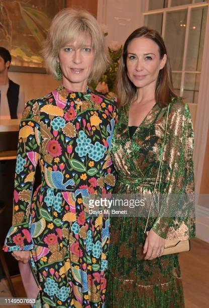 Nicola Formby and Claire Forlani attend a dinner hosted by Skye Gyngell and the Trustees of Action on Addiction to celebrate Addiction Awareness Week...