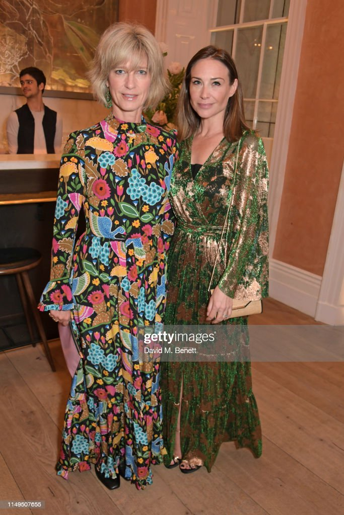Skye Gyngell And The Trustees Of Action On Addiction Celebrate Addiction Awareness Week : News Photo