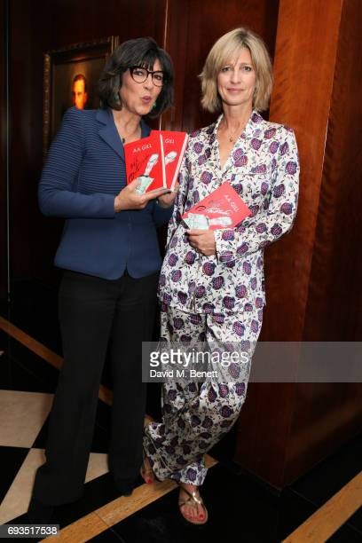 Nicola Formby and guest attend the launch of new book Uncle Dysfunctional by AA Gill hosted by Esquire EditorinChief Alex Bilmes and Nicola Formby at...