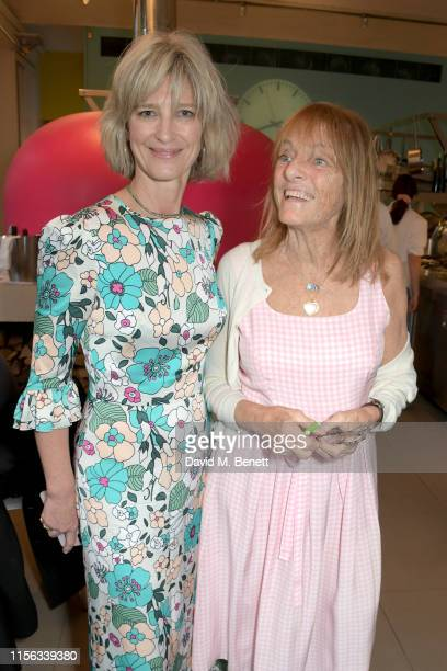 Nicola Formby and Ruth Rogers attend The Sunday Times AA Gill Award for emerging food critics at The River Cafe on June 16, 2019 in London, England.