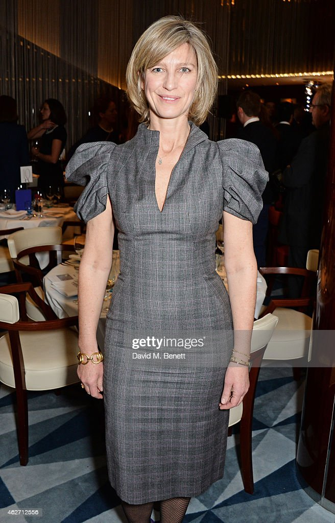 Dinner Hosted By Nicola Formby And AA Gill In Support Of Borne Charity At Rivea At Bulgari Hotel : News Photo