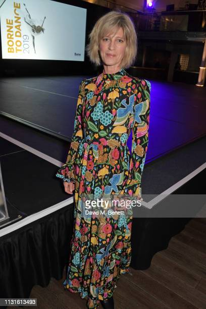 """Nicola Formby attends """"Borne To Dance"""", a special charity performance in aid of Borne, at Paul Hamlyn Hall, The Royal Opera House on March 19, 2019..."""