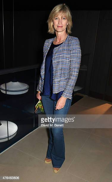 Nicola Formby attends the launch of Broadgate Circle London's new dining hub on June 9 2015 in London England