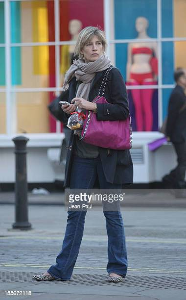 Nicola Formby is seen out in west London on November 6 2012 in London England