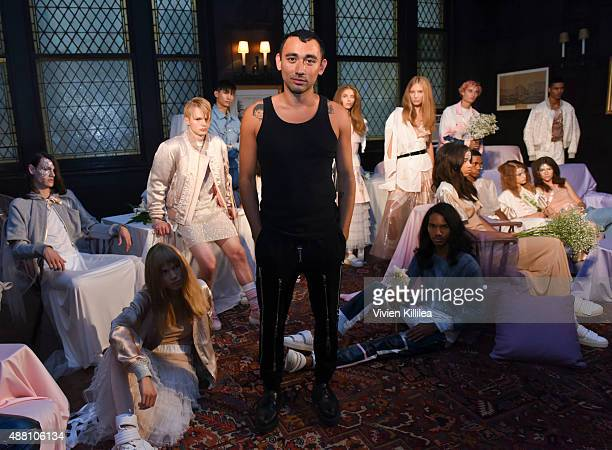 Nicola Formichetti attends the Nicopanda presentation during Spring 2016 New York Fashion Week on September 13, 2015 in New York City.