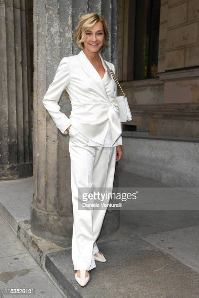 Nicola Gerber Maramotti wearing Max Mara attends the Max Mara Resort 2020 Fashion Show at Neues Museum on June 03 2019 in Berlin Germany