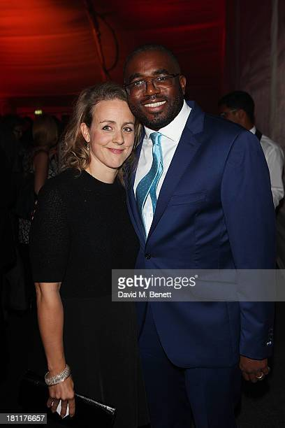 Nicola Green and David Lammy MP attends the London Evening Standard's Power 1000 launch at Battersea Power Station on September 19 2013 in London...