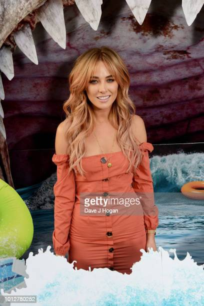 Nicola Hughes attends a special screening of 'The Meg' at Brockwell Lido on August 7 2018 in London England