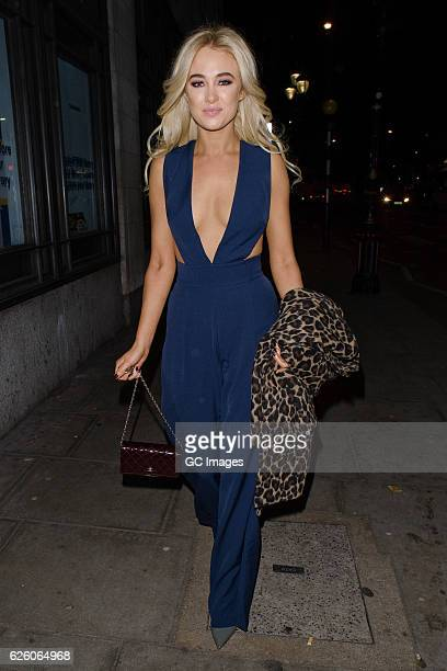Nicola Hughes attends the Urban Music Awards 2016 at Porchester Hall on November 26 2016 in London England